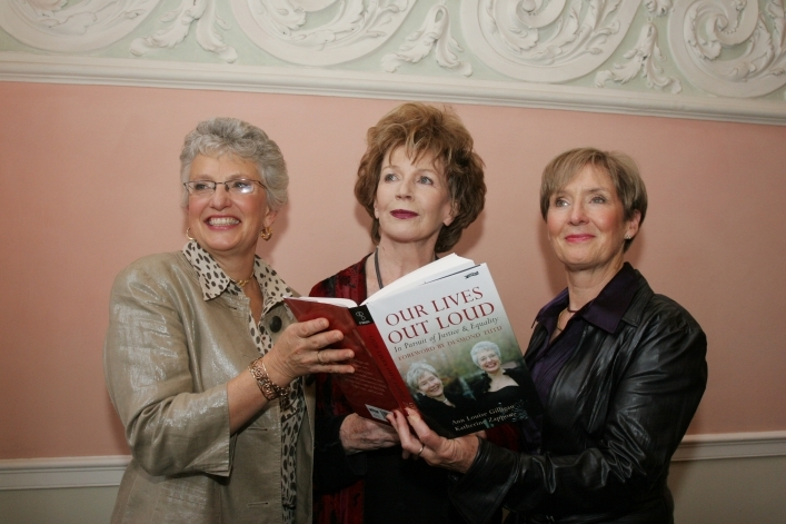 Edna O'Brien with Katherine & Ann Louise