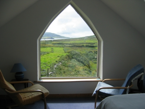 View from window, Co. Kerry